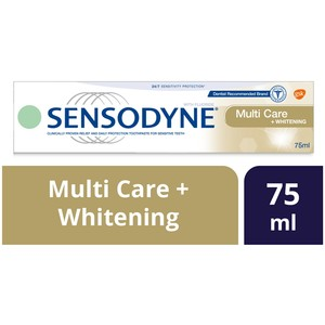 Sensodyne Multi Care + Whitening Toothpaste 75ml