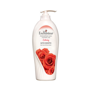 Enchanteur Satin Smooth Enticing Lotion with Aloe Vera & Olive Butter 750ml