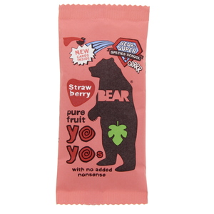 Bear Pure Fruit Yo Yos Strawberry 20g