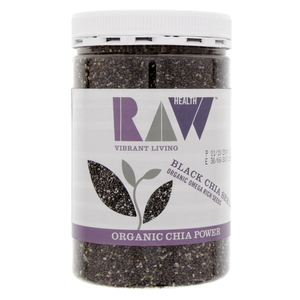 Raw Organic Black Chia Seeds 450g