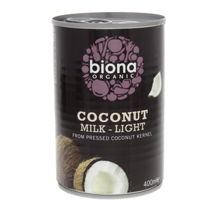 Biona Organic Coconut Milk - Light 400g