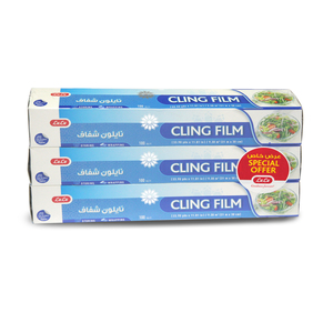 Lulu Cling Film Size 31m x 30cm 100sq.ft 3pcs