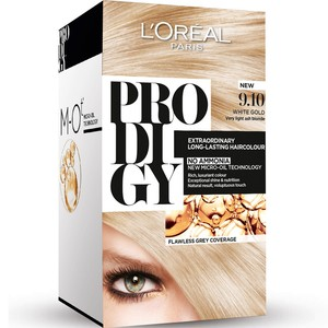 Loreal Prodigy Extra Ordinary Long Lasting Hair Colour White Gold 9.1 1 Packet