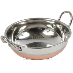 Chefline Copper Bottom Kadai