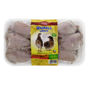 Lulu Frozen Quails 6 Pc 600g
