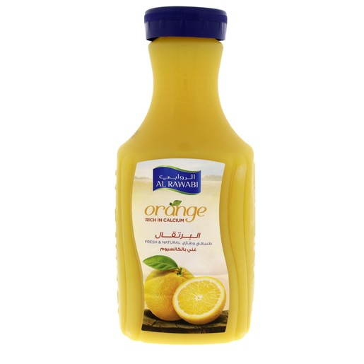 Al Rawabi Orange Juice Rich In Calcium 1.75Litre