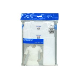 Elite Comfort Boys T.Shirt White 3Pcs Pack 11-12Y