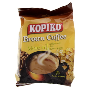 Kopiko Brown Coffee More In 1 10 X 25g Sachets