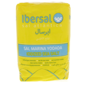 Ibersal Iodized Sea Salt 1kg
