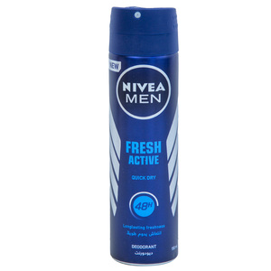 Nivea Men Fresh Active Ocean Extracts Deodorant 150ml