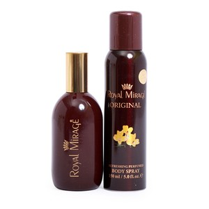 Royal Mirage Perfume 120ml + Body Spray 150ml Assorted