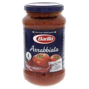 Barilla Arrabbiata Tomato Sauce With Chilli Peppers  400g