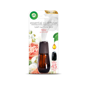 Air Wick Air Freshener Essential Oil Diffuser Refill Peony & Jasmine 20ml