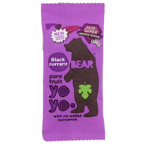 Bear Pure Fruit Yo Yos Blackcurrant 20g