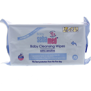 Sebamed Extra Sensitive Cleansing Baby Wipes 72pcs