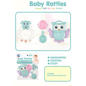 First Step Baby Rattle B-1053865 3's