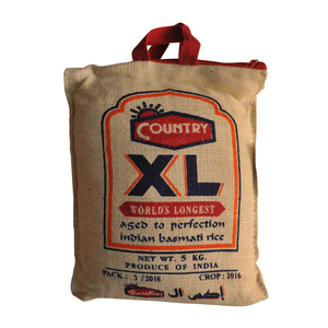 Country XL Indian Basmati Rice 5kg