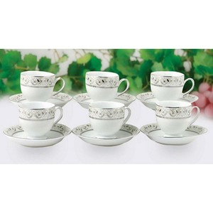 Imperial Cup & Saucer Set 6pcs  Assorted