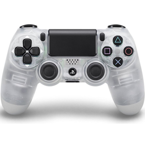 Sony DualShock 4 V2 Controller for PlayStation 4, Crystal