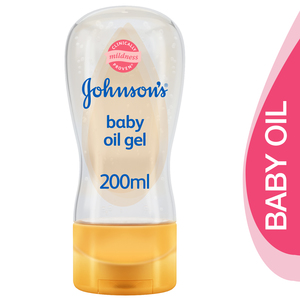 Johnson's Baby Oil Gel With Blossom Scent 200ml