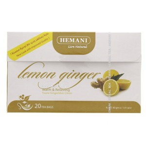 Hemani Lemon Ginger Herbal Tea 20pcs