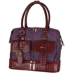 Cortigiani Women's Bag 1017 Fuchsia/Black