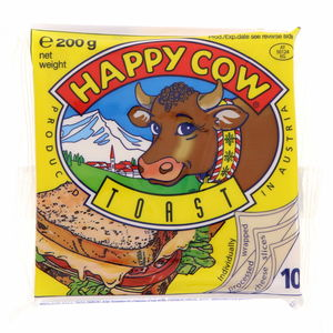 Happy Cow Toast Processed Cheese slices 200g