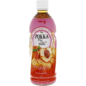 Pokka Ice Peach Tea 500ml