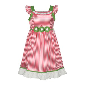 Debackers Girls Cotton Frock Cap Sleeve GILZ15 2-8Y