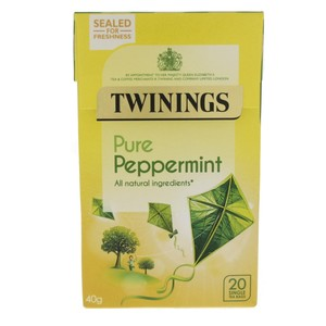 Twinings Pure Peppermint Tea Bags 40g