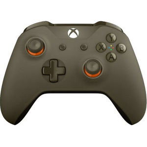 Xbox One S Wireless Controller - Military Green Orange