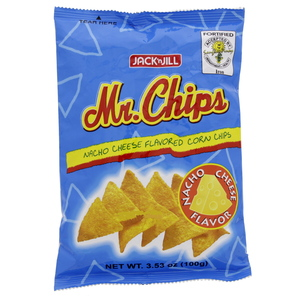 Jack N Jill Mr. Chips Cheese Flavored Corn Chips 100g
