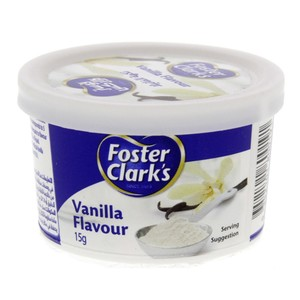 Foster Clark's Vanilla Powder 15 Gm x 12 Pieces