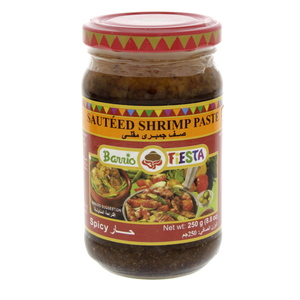 Barrio Fiesta Sauteed Shrimp Paste Spicy 250g