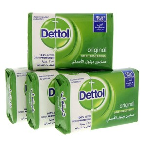 Dettol Soap Original 120g x 4pcs