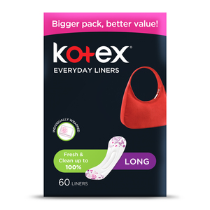 Kotex Every Day Liners Scented Long 60pcs