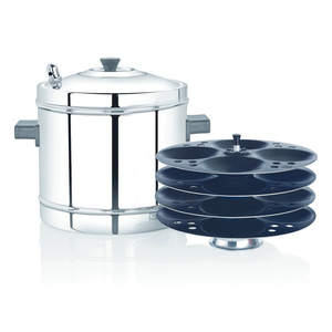 Premier Stainless Steel Idli Maker With Non-Stick   4-Plate