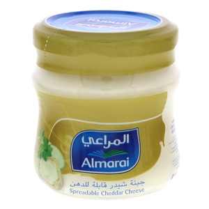 Almarai Spreadable Cheddar Cheese 120g