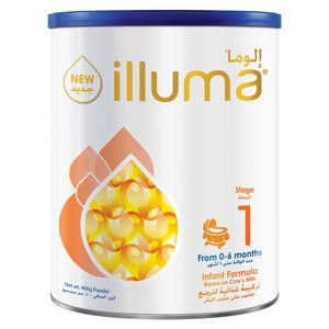 Illuma Infant Formula Stage 1 From 0 - 6 Months 400g