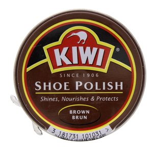 Kiwi Shoe Polish Brown 50 Ml