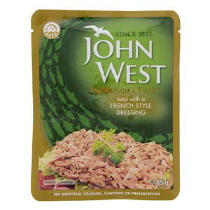 John West Tuna With A French Style Dressing 85g