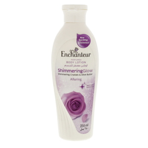 Enchanteur Perfumed Body Lotion Shimmering crystals & Olive Butter 250ml