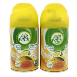 Air Wick Freshmatic Max Refill Sparkling Citrus 250 ml x 2