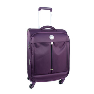Delsey FlightLight 4Wheel Soft Trolley 57cm Purple