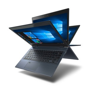 Toshiba Portege X20W-D-129 12.5 Inch FHD with Touch, Business 2-in-1 Laptop, Intel i5-7200, 8GB RAM, 256 GB SSD, Shared Graphics, Windows10 Pro , 12.5 inch FHD with Touch ,Onyx Blue with Hair line