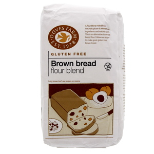Doves Farm Gluten Free Brown Bread Flour Blend 1 Kg