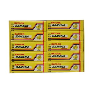 Batook Banana Chewing Gum 5Sticks x 20 Pieces