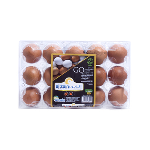 Al Zain Brown Egg Large 15pcs