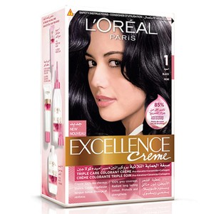 L'Oreal Excellence Creme Black Noir 1 1 Packet