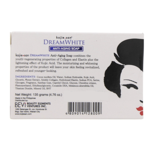 Buy Kojie San Dream White Anti Aging Soap 135g - Bath Soaps